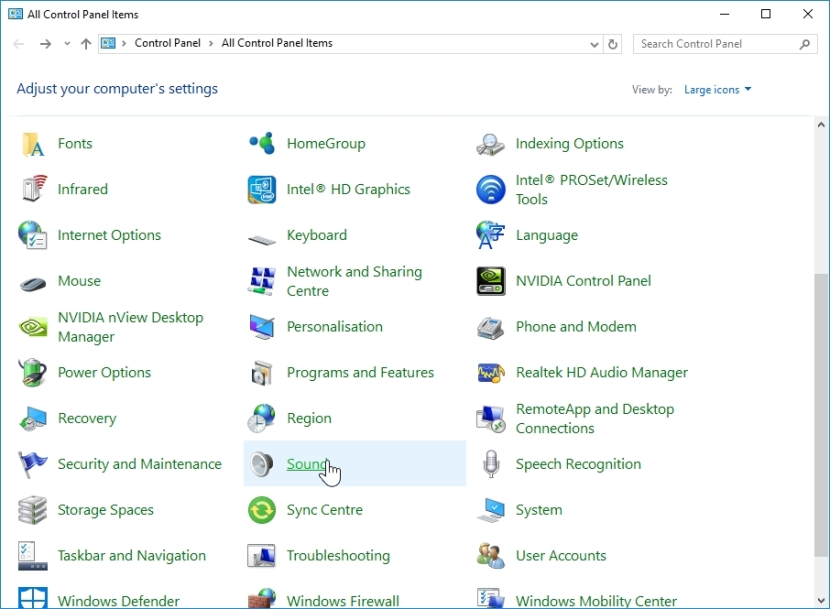 WINDOWS 10 1607 RECOMMENDED SETTINGS CONTROL PANEL_04082016_075245