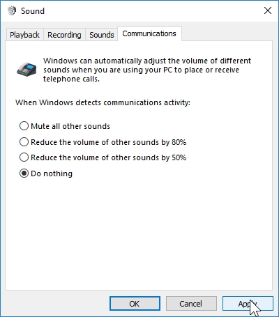 WINDOWS 10 1607 RECOMMENDED SETTINGS CONTROL PANEL_04082016_075356