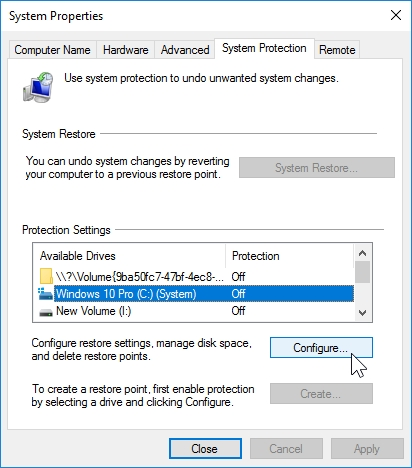 WINDOWS 10 1607 RECOMMENDED SETTINGS CONTROL PANEL_04082016_075547