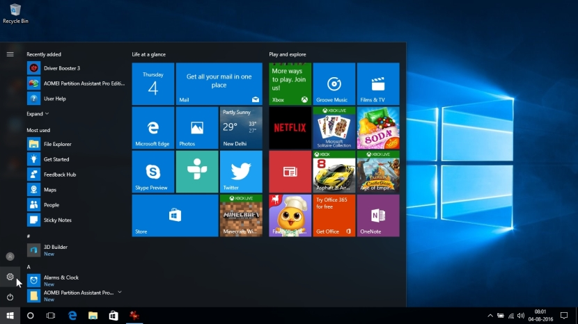 WINDOWS 10 1607 RECOMMENDED SETTINGS PC SETTINGS _04082016_080157