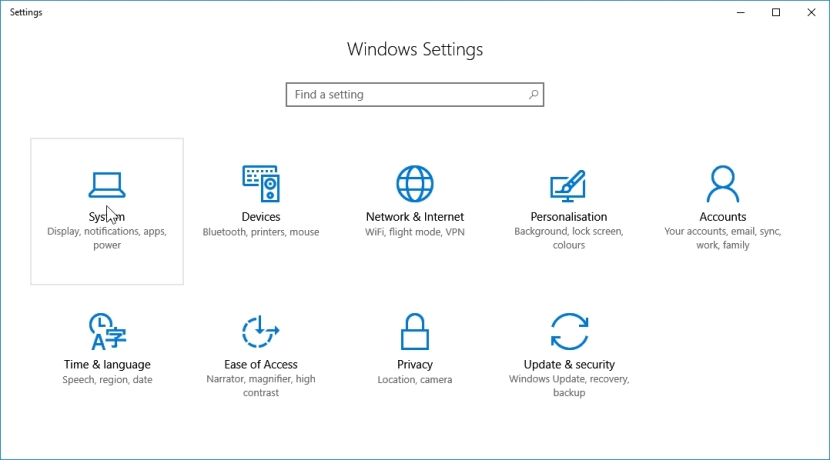 WINDOWS 10 1607 RECOMMENDED SETTINGS PC SETTINGS _04082016_080214