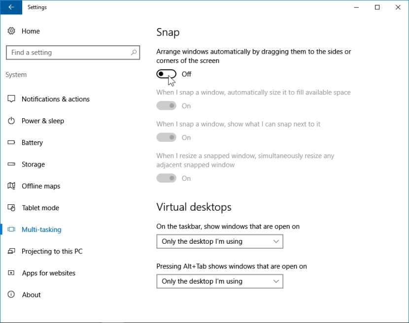 WINDOWS 10 1607 RECOMMENDED SETTINGS PC SETTINGS _04082016_080542