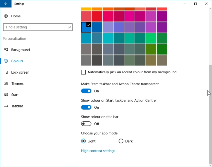 WINDOWS 10 1607 RECOMMENDED SETTINGS PC SETTINGS _04082016_080901