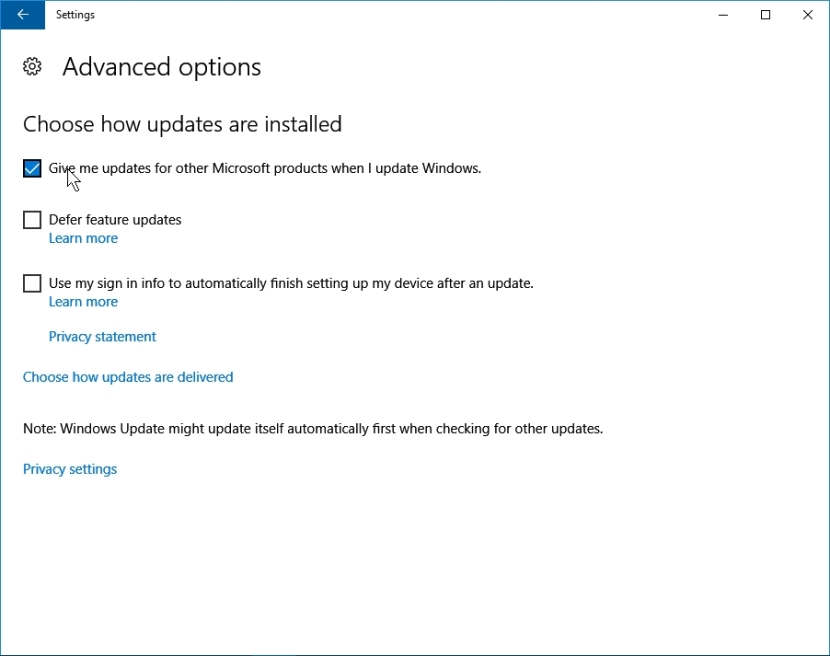WINDOWS 10 1607 RECOMMENDED SETTINGS PC SETTINGS _04082016_081205