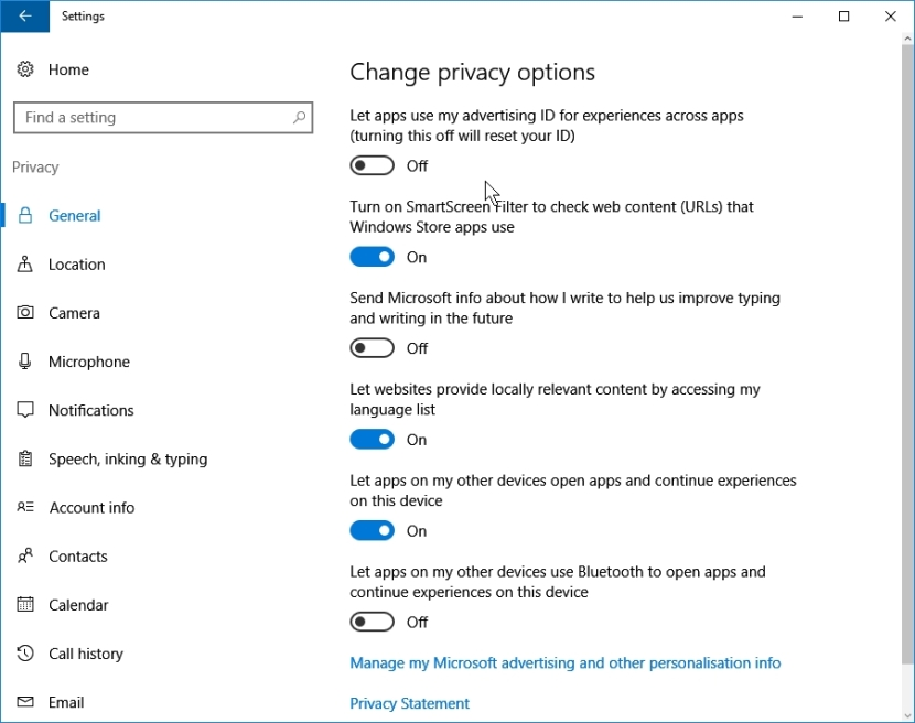 WINDOWS 10 1607 RECOMMENDED SETTINGS PRIVACY_09-08-2016_07-41-45
