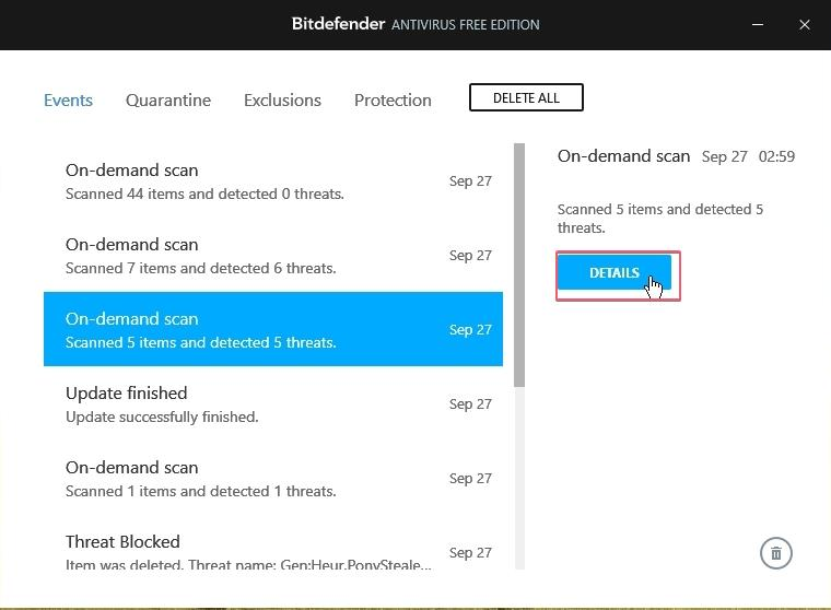 Bitdefender Free Antivirus Events_27092020_030441
