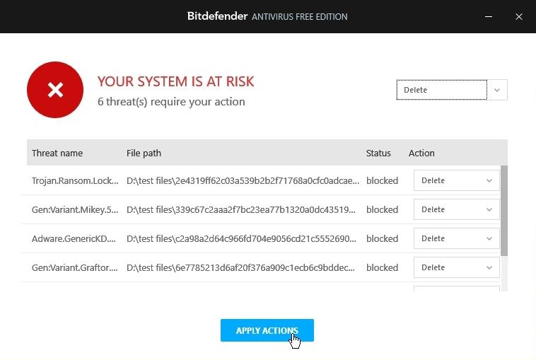 Bitdefender Free Antivirus Malware scan_27092020_030110